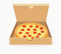Упаковка пирогов и пиццы